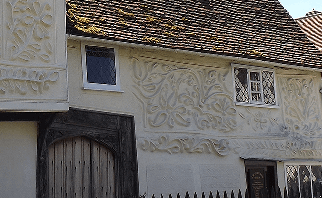 Essex buildings with pargetting